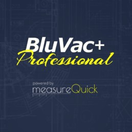 The BluVac app is powered by MeasureQUICK
